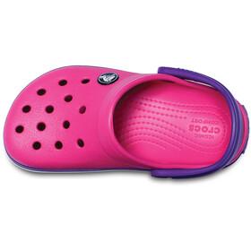 Crocs Crocband Clogs zoccoli Bambino, paradise pink/amethyst